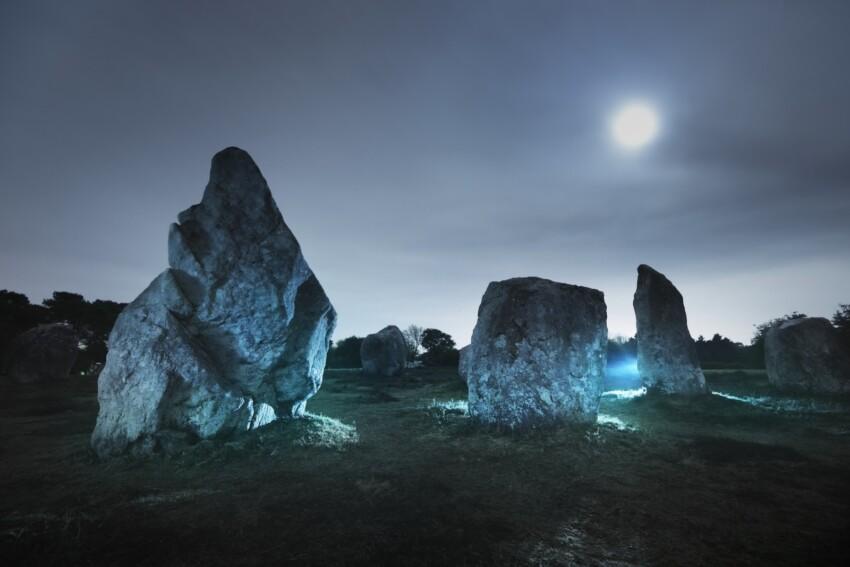 Menhir in Bretagna