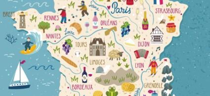 Le regioni francesi, quali sono e cosa vedere in Francia