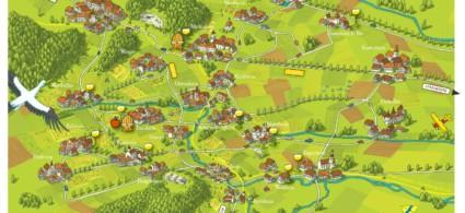 Mappa Alsazia